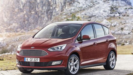 Ford представил обновленный компактвэн C-Max