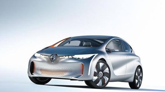 Новый концепт Renault тратит 1 литр горючего на 100 км пути