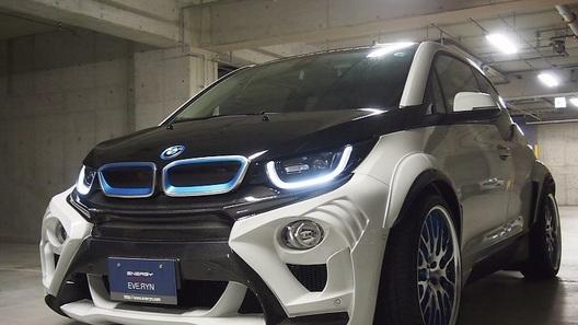 Первый тюнинг-пакет для BMW i3 сделал машину гораздо эффектнее
