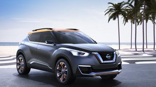 Nissan построил концептуальный кроссовер для бразильцев