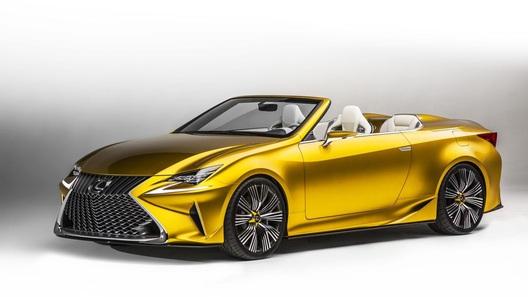 В Lexus не успели поставить крышу концепту LF-C2