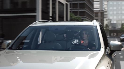 Volvo научила автомобили общаться с велосипедистами
