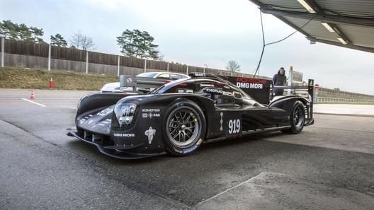 Porsche вывела на тесты новый болид для гоночных марафонов