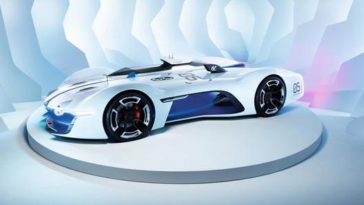 Бренд Alpine готов к дебюту в виртуальных гонках