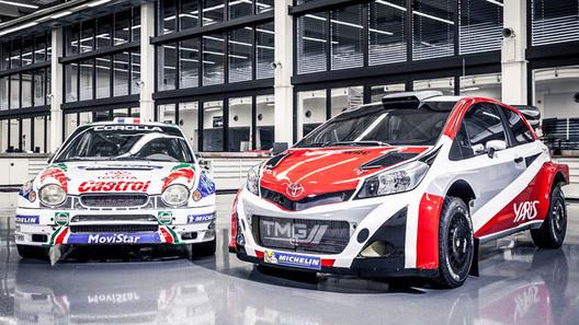 Toyota возвращается в чемпионат мира по ралли