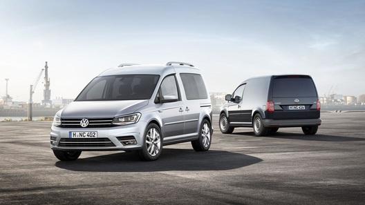 Volkswagen представил новое поколение модели Caddy