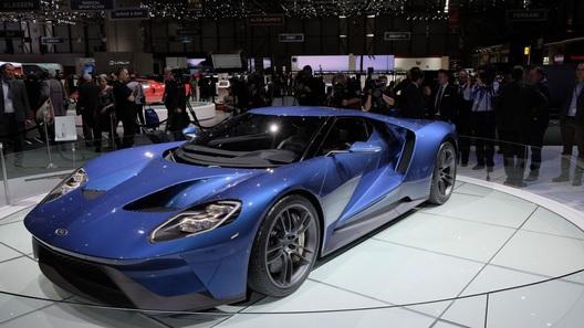 Ford познакомил Европу со своим новым суперкаром