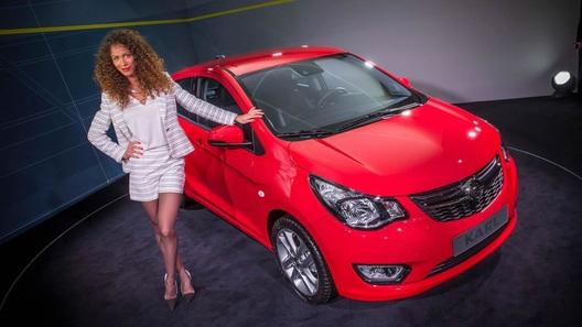 Opel представил в Женеве маленького