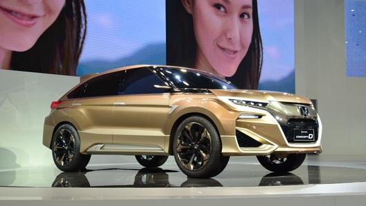 C новым кроссовером Honda будут играть только китайцы