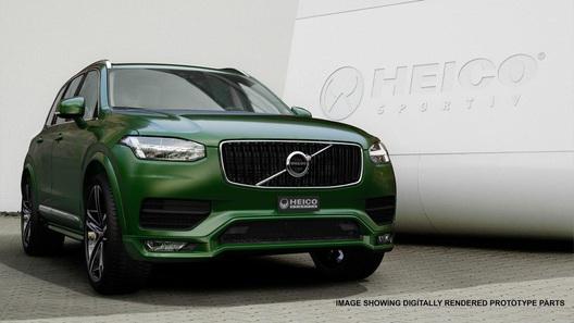 Немцы создали первый тюнинг-пакет для нового поколения Volvo XC90