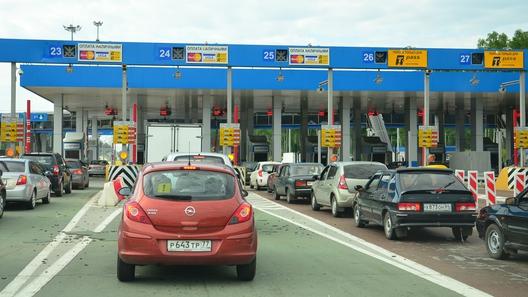 Проезд по платным дорогам в России можно будет оплачивать прямо на ходу