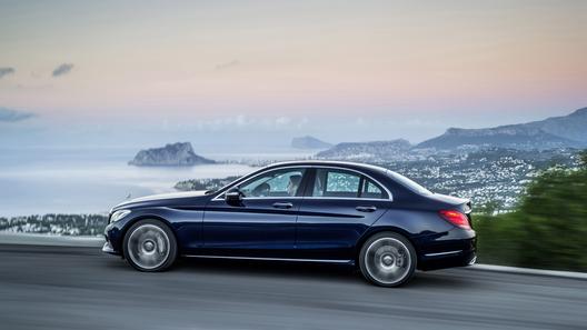 Новый Mercedes-Benz C-класса соберут из алюминия