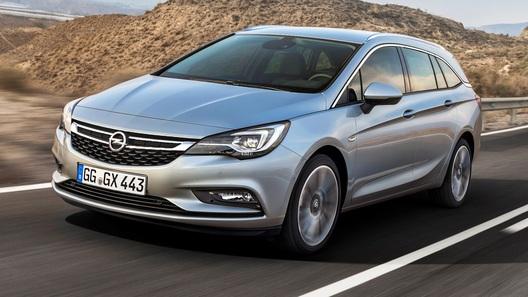 Семейство Opel Astra пополнилось универсалом