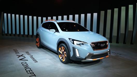 Названа дата премьеры нового поколения Subaru XV