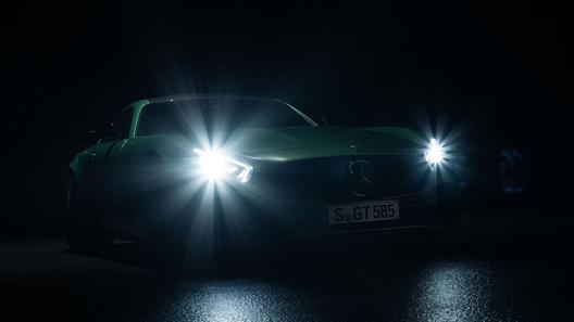 Mercedes-Benz намекнул на очередной заряженный спорткар