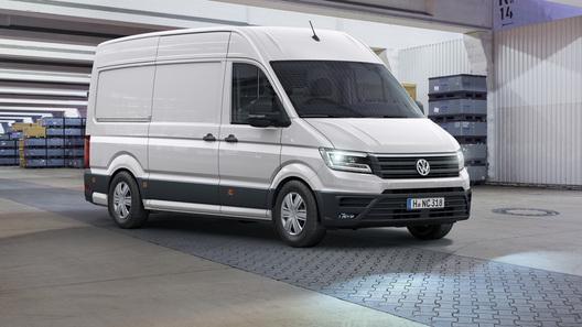 Volkswagen представил новое поколение фургона Crafter