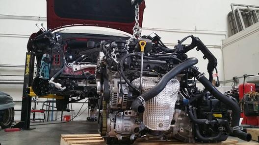 Тюнеры засунули двигатель от Hyundai в Porsche 911