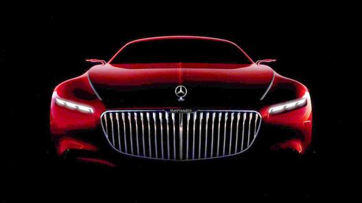 """Огромное купе от Maybach """"показало личико"""""""