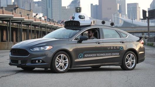 Uber начал катать своих клиентов на беспилотниках