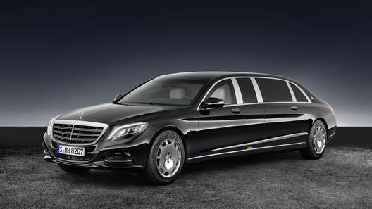Mercedes-Benz S-класса превратили в броневик за 1,5 млн долларов