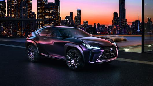 Lexus готовится представить самый компактный и доступный кроссовер