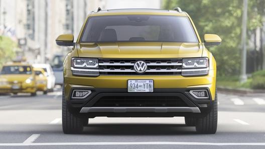 VW привезет вНью-Йорк новый пикап набазе Фольксваген Teramont