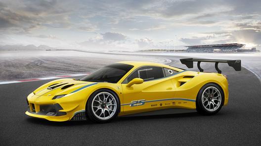 Феррари выпустит самый мощнейший суперкар с агрегатом V8 вистории марки
