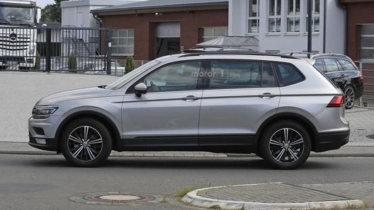 Семиместный VW Tiguan Allspace будет доступен в Российской Федерации