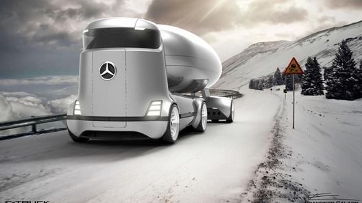"""""""Мерседесу"""" предложили построить огромный грузовик-цистерну"""