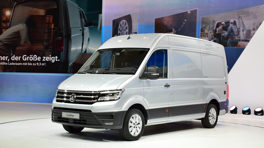 В России отзывают новый Volkswagen Crafter