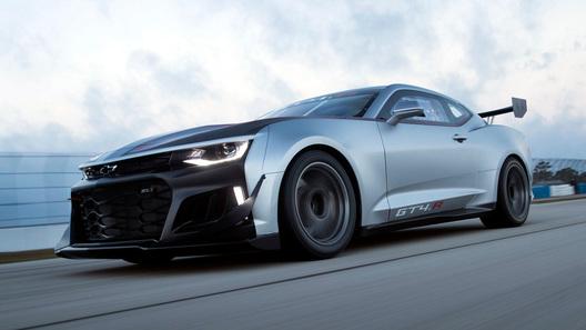 Chevrolet отправил Camaro в гонки Gran Turismo