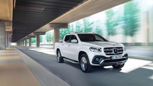 Появились подробности о российских версиях пикапа Mercedes-Benz
