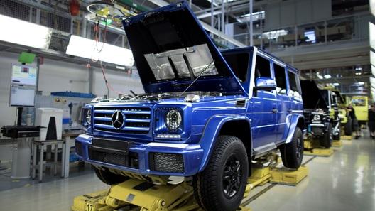 Benz отзывает 887 вседорожников G-Class из-за сложностей ссистемой нормализации