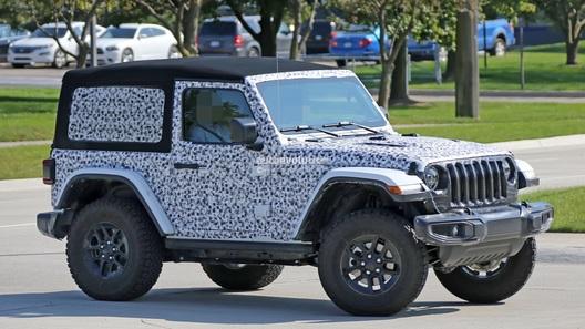 Стала известна мощность моторов нового Jeep Wrangler