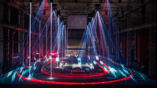 Российская премьера Audi признана самой эффектной в мире