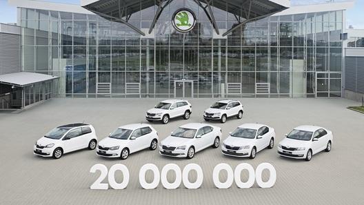 20-миллионный автомобиль выпустила Шкода вКвасинах