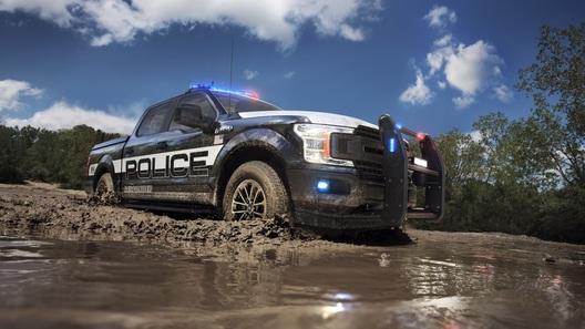 Пикап Ford F-150 отправился на службу в полицию