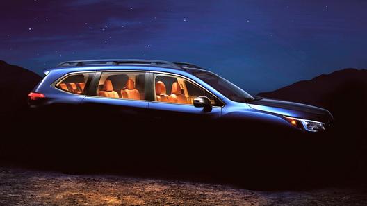 Subaru представила тизер нового семиместного кроссовера Ascent