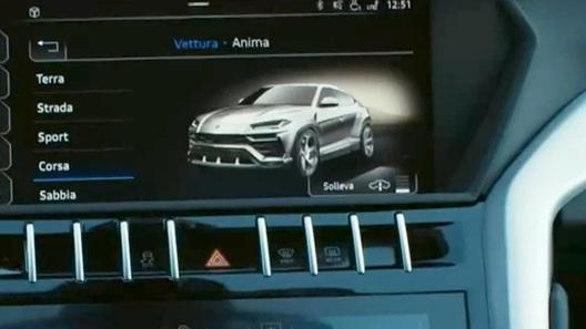 Lamborghini Urus: интимные подробности интерьера
