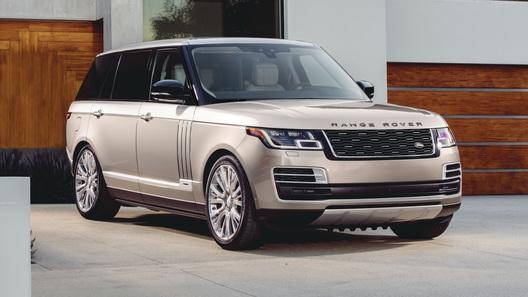Самый роскошный и дорогой Range Rover: российские цены