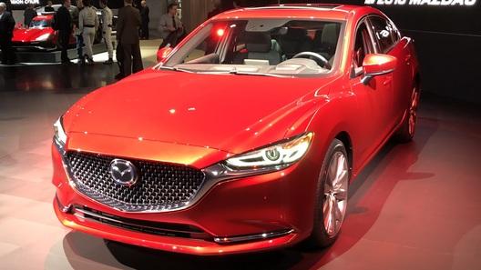 Обновленная Mazda6 едет в Российскую Федерацию стурбомотором