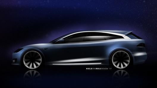 Tesla Model S превратится в универсал