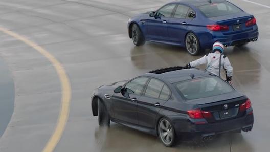 Вкомпании BMW изобрели систему дозаправки авто вдрифте