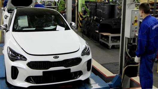 На «Автоторе» начали выпускать автомобили Kia Stinger (фото)
