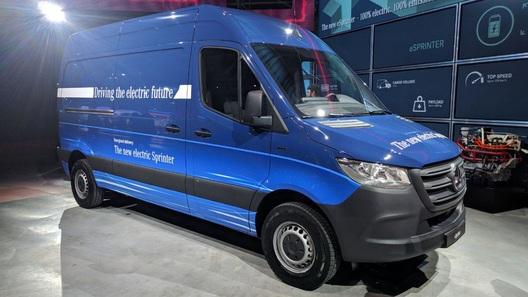 Появились подробности обэлектрифицированном Mercedes-Benz eSprinter