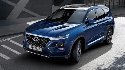 Hyundai показала новое поколение кроссовера Santa Fe