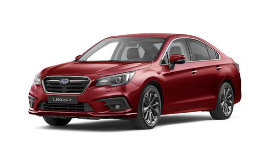 В Россию едет обновленный Subaru Legacy