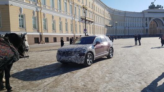 Новый Volkswagen Touareg едет через всю Россию на собственную премьеру