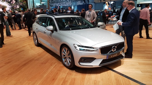 У Volvo появился еще один красивый универсал