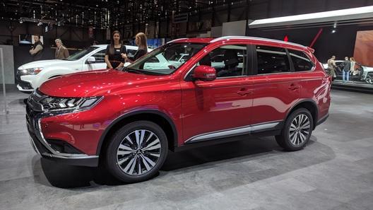 Mitsubishi представила обновленный Outlander